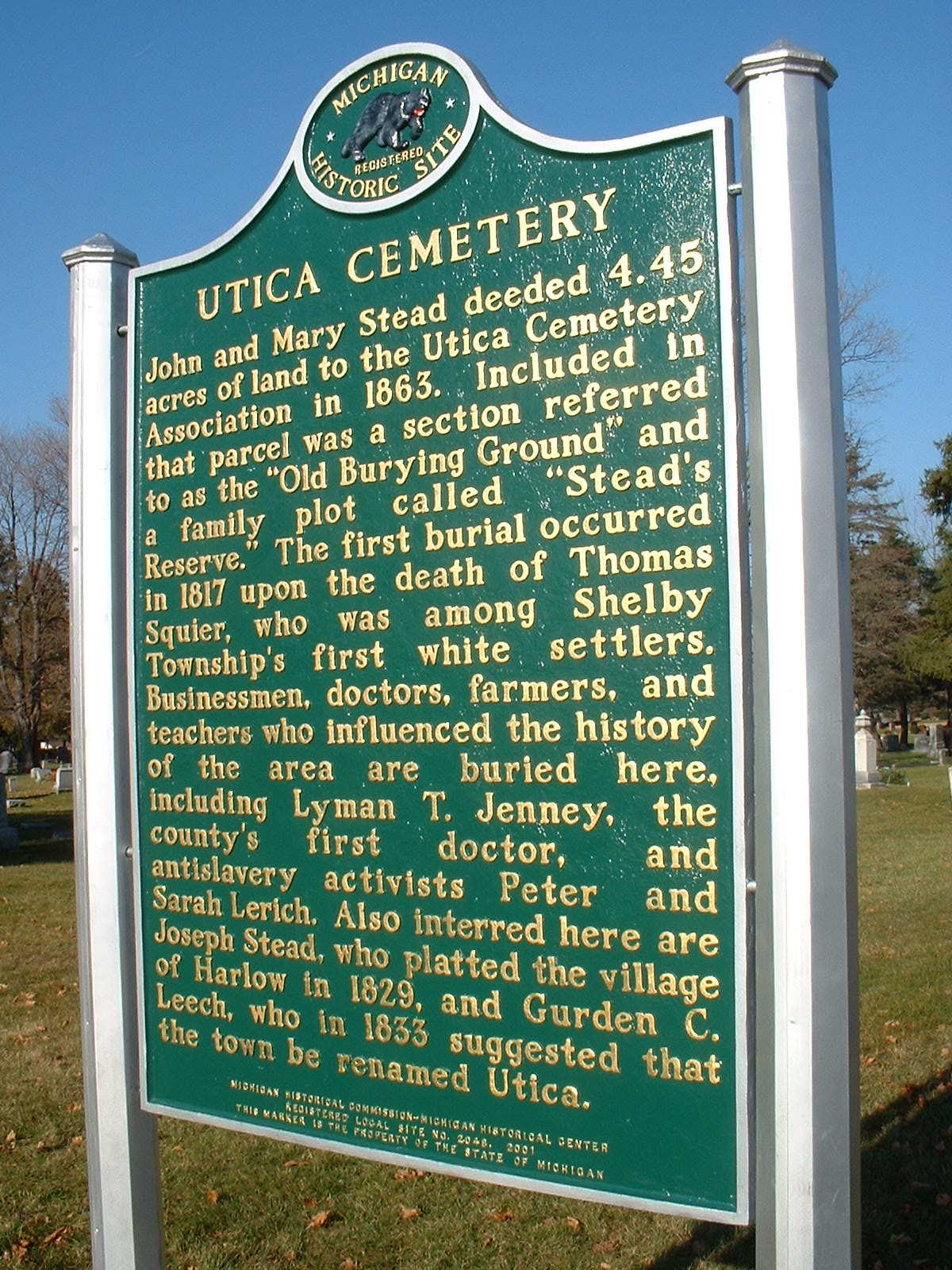 Historic Site Marker